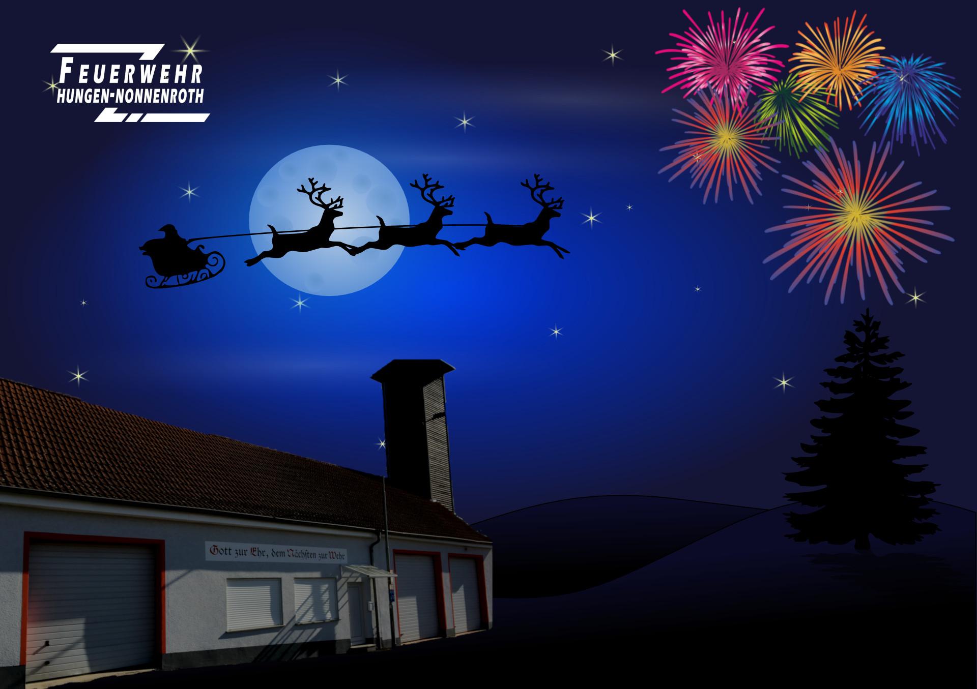 Frohe Weihnachten und ein guten Rutsch ins neue Jahr 2021!